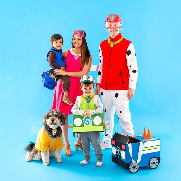 This 'PAW Patrol' Family Halloween Costume Is So Doggone Cute