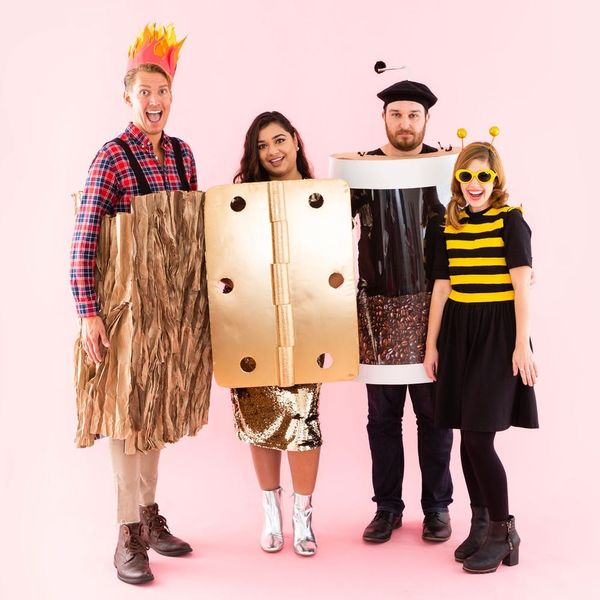Swipe Right With These DIY Dating App Halloween Costumes