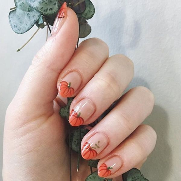18 Thanksgiving Nail Art Design Ideas You Can Wear All Fall Long