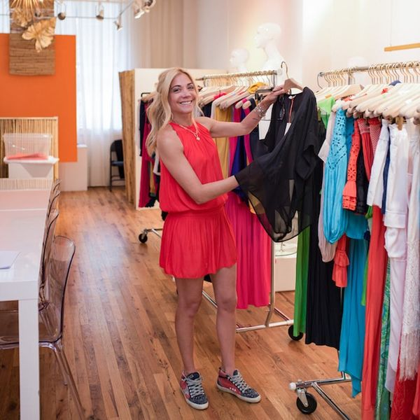 This Woman Started Her Own Fashion Brand After Struggling to Find the Perfect Date-Night Top
