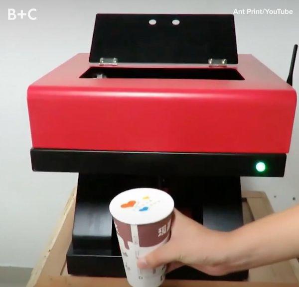 This Printer Takes Latte Art To the Next Level