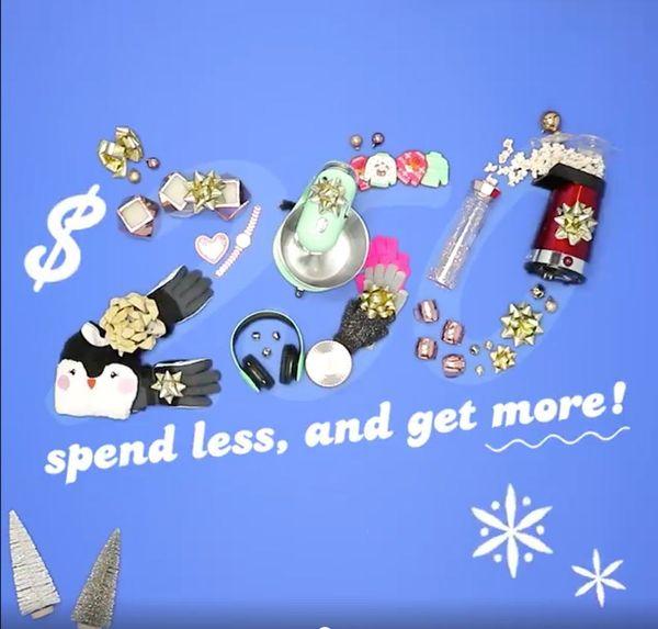 Holiday Shopping under $250