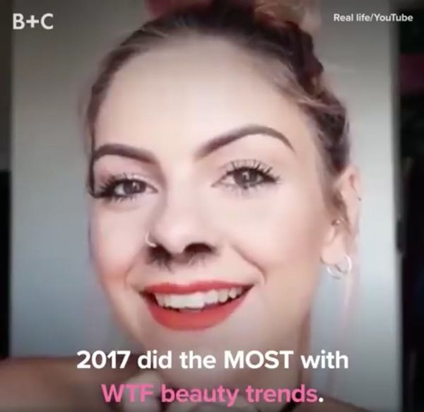 WTF Beauty Trends of 2017