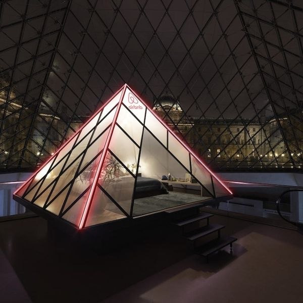 Airbnb Is Giving Away the Most Epic Sleepover Ever — at the Louvre