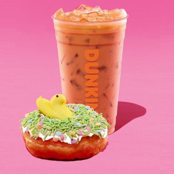 Dunkin's New Peeps Coffee Is Like Diving Head-First Into a Pool of Marshmallows