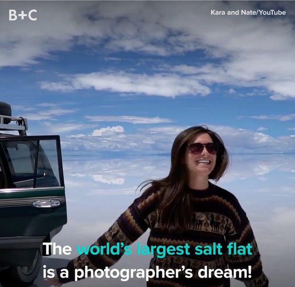 The World's Largest Salt Flat Is a Photographer's Dream