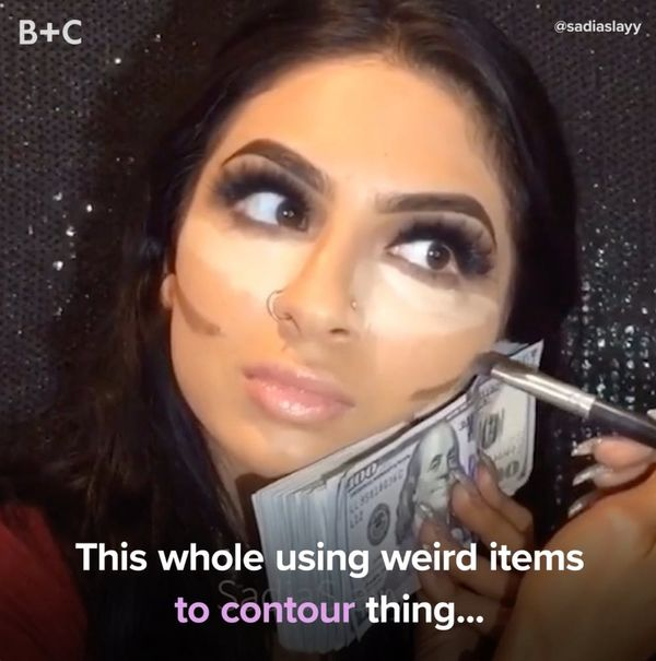 People Use the Weirdest Things to Contour
