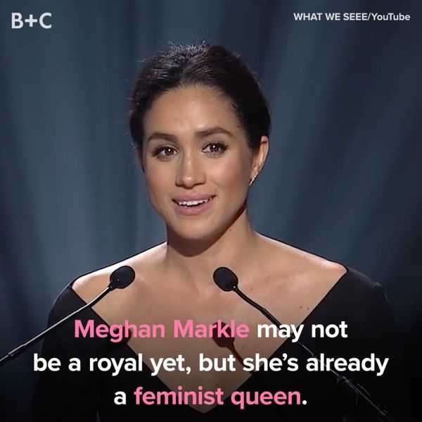 Proof That Meghan Markle Is a Feminist Queen