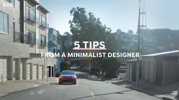 5 Tips From a Minimalist Designer with Kia Motors