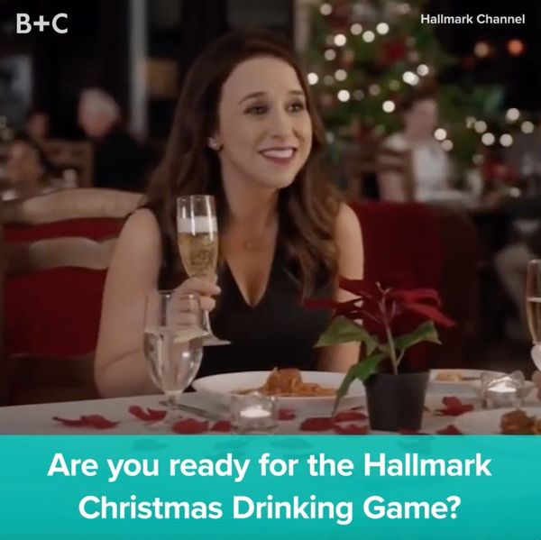 This Hallmark Channel Drinking Game Will Get You LIT