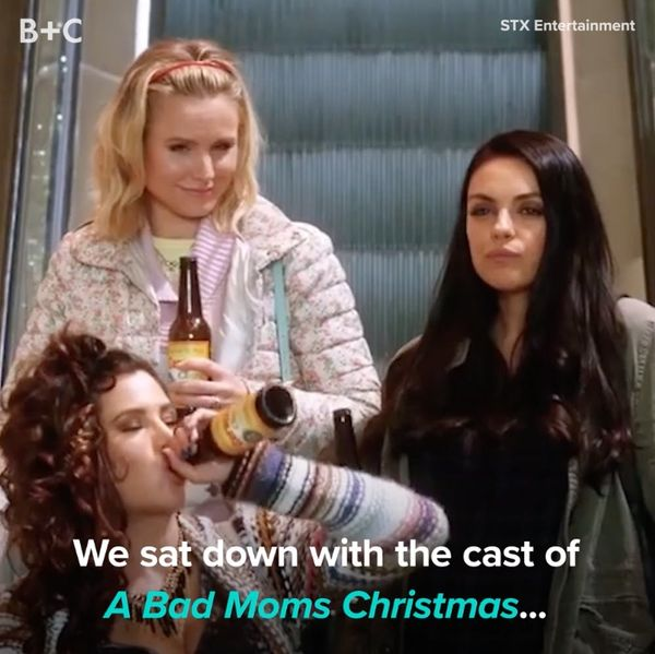 The Cast of Bad Moms Shares Holiday Secrets