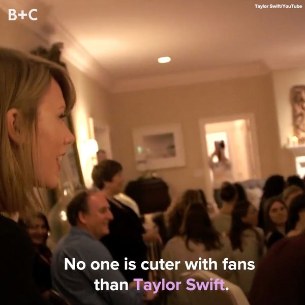 No One Is Cuter With Fans Than Taylor Swift
