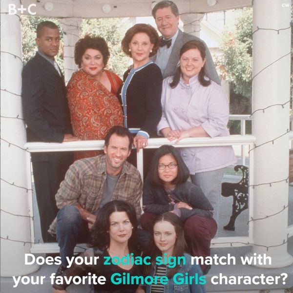 Your Gilmore Girls Character, According to Your Zodiac Sign