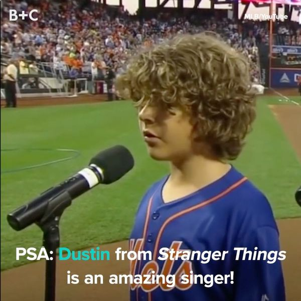 Dustin from 'Stranger Things' Is Actually an Awesome Singer