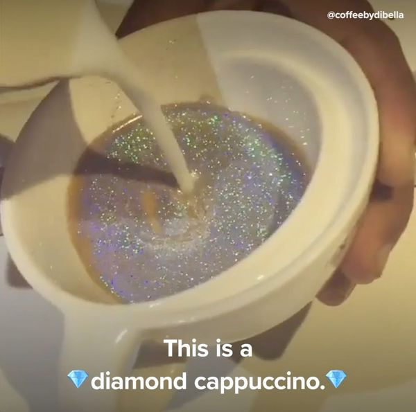 Glitter Cappuccinos Are WAY Better Than Unicorn Lattes