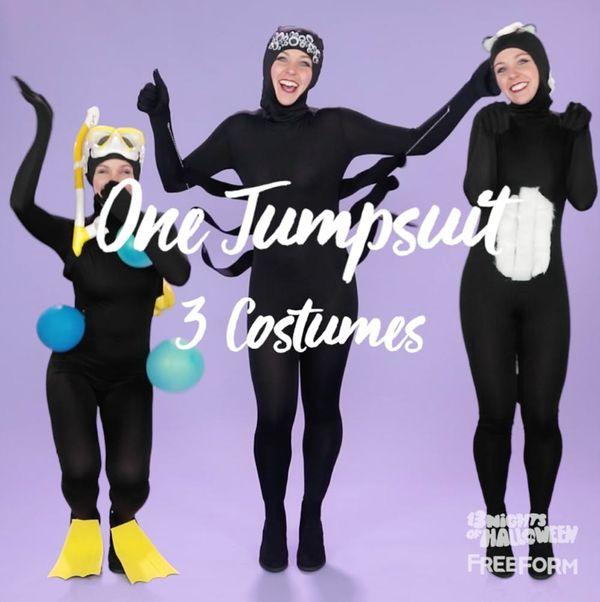 DIY Jumpsuit Costumes