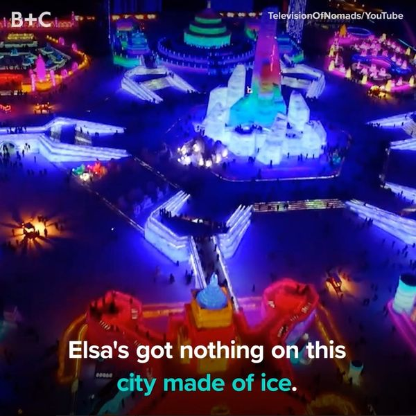 The Harbin Ice Festival Is Too Cool
