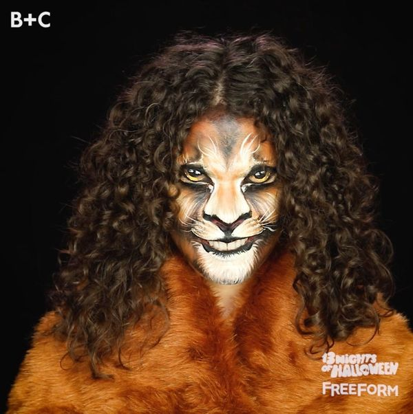 Watch This Lion Makeup Transformation
