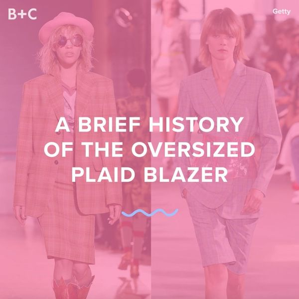 A Brief History of the Oversized Blazer