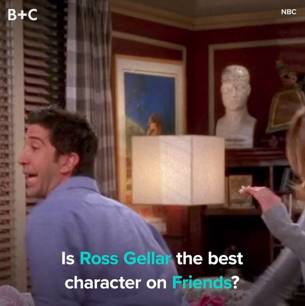 The Best Ross Moments on 'FRIENDS'