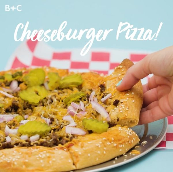 How to Make Cheeseburger Pizza