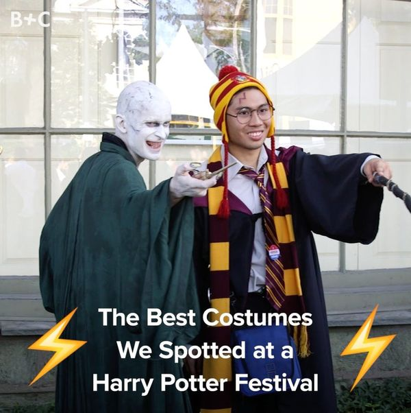 The Best Costumes We Spotted at a Harry Potter Festival