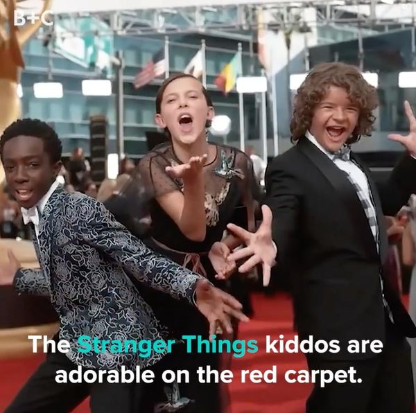 The Cutest Red Carpet Moments From the 'Stranger Things' Kids
