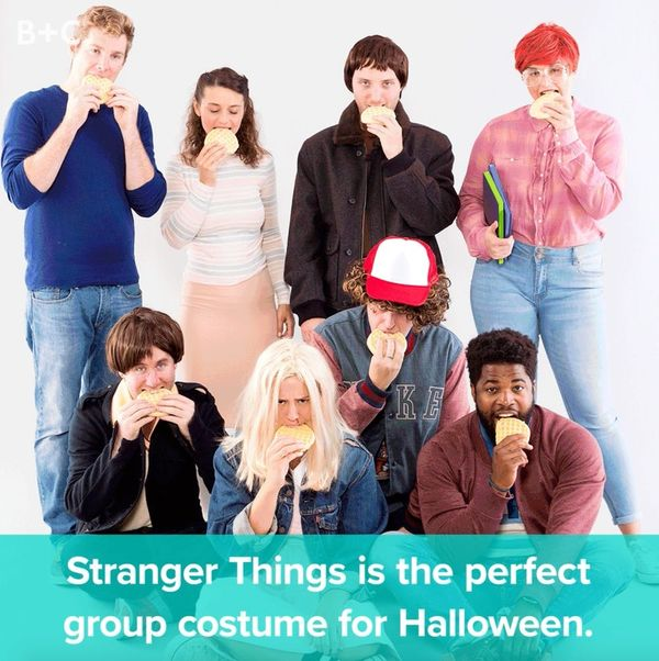 Keep Halloween Strange With This 'Stranger Things' Group Costume
