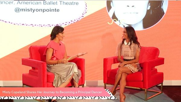 On Stage with Misty Copeland at #CreateGood