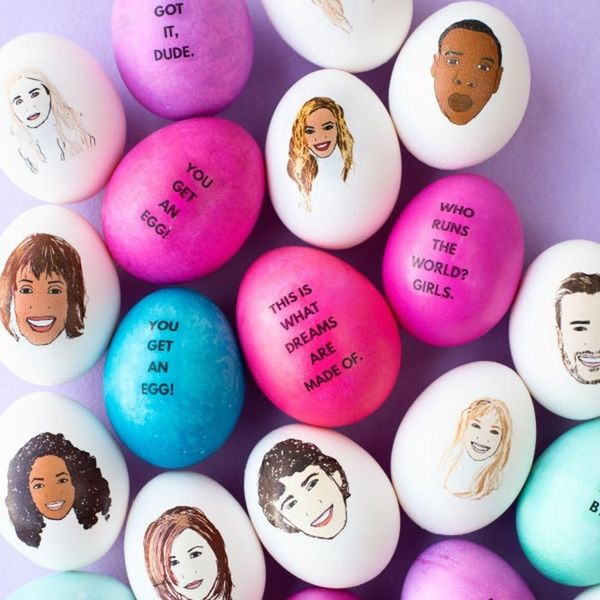 44 Creative Ways to Decorate Easter Eggs