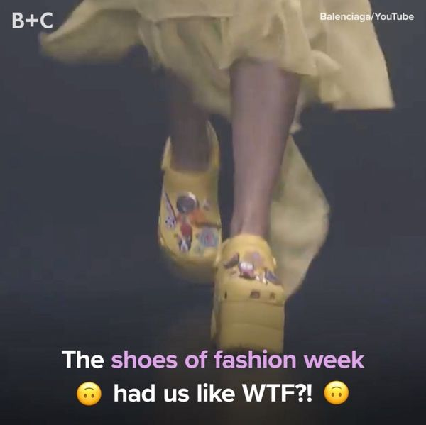 The WTF Shoes of Fashion Week