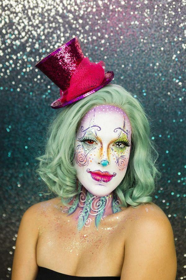 Halloween Makeup: Watch This Crazy Clown Transformation