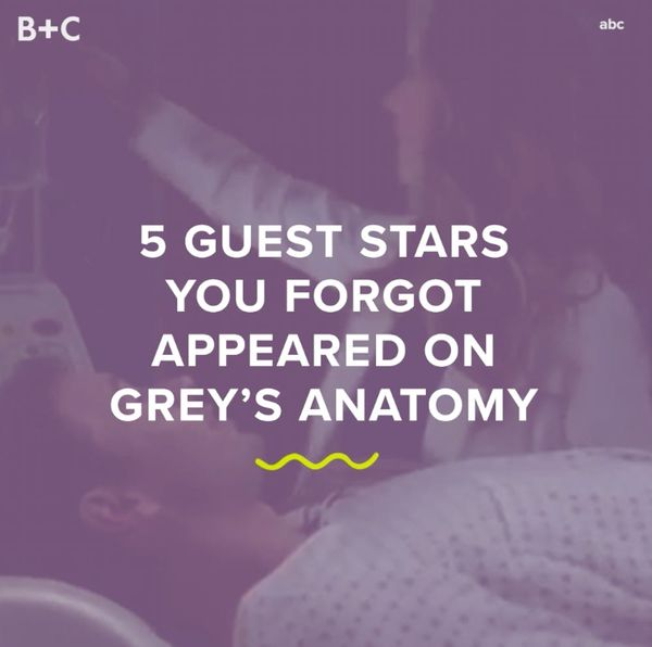 Grey's Anatomy Guest Stars We Totally Forgot About