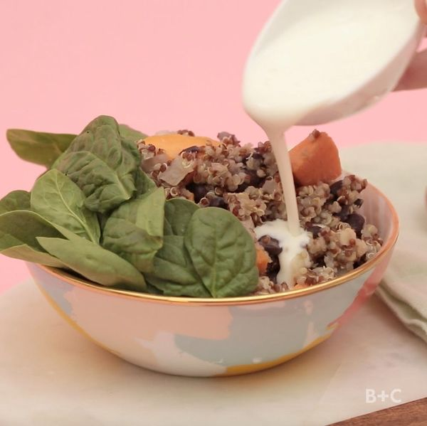 Hearty Marsala Grain Bowl Recipe