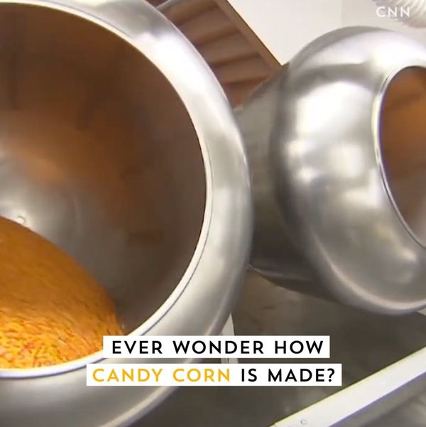 Here's How Candy Corn Is Made