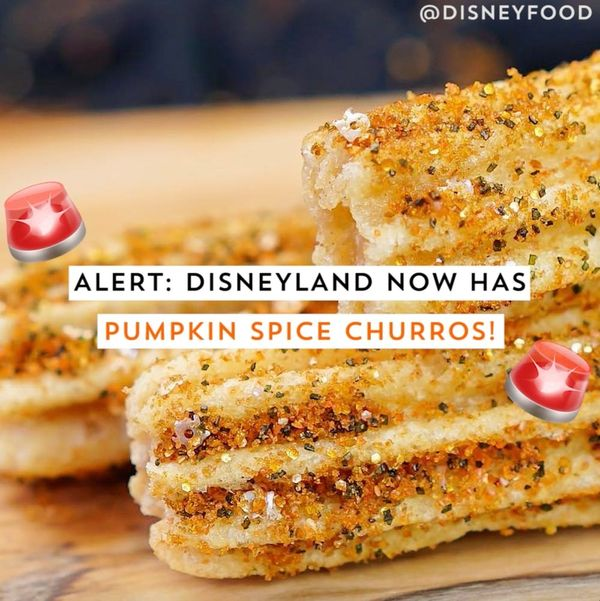 Disneyland Now Has Pumpkin Spice Churros!