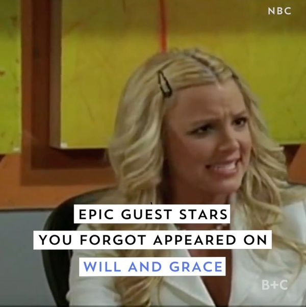 6 Guest Stars You Forgot Appeared on Will and Grace