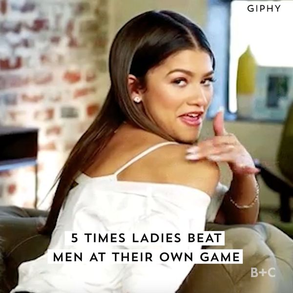 5 Times Women Beat Men At Their Own Game