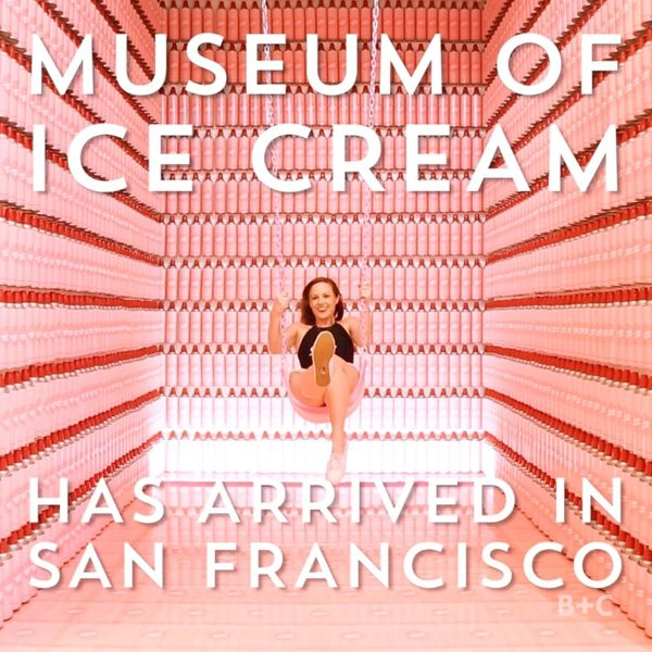 The Brand New San Francisco Museum of Ice Cream is Here!