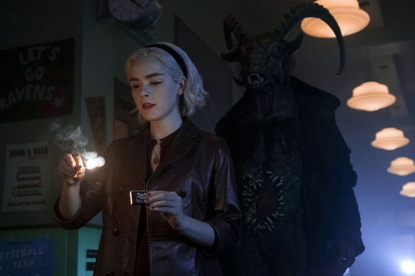 Kiernan Shipka Explores Her Dark Side in the New 'Chilling Adventures of Sabrina' Part 2 Trailer