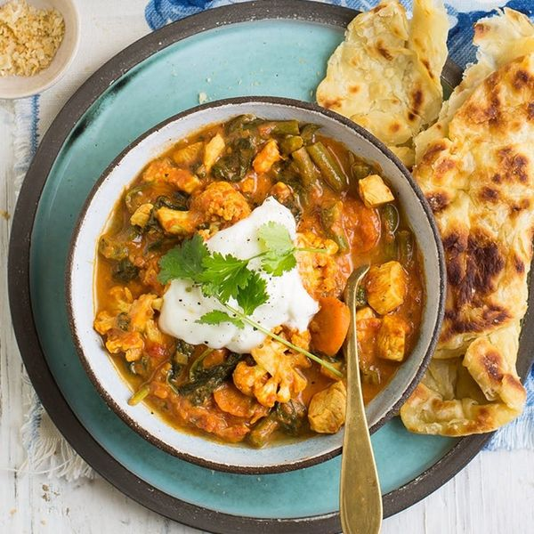 This veggie filled butter chicken curry is a top Indian food recipe on our list.