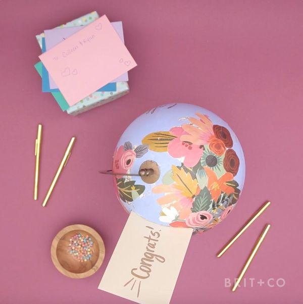 How to Make a Honeymoon Globe