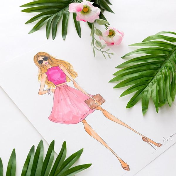Love Fashion? Learn How to Sketch Your Own Styles (+ Stock Up on a Few Essentials!)