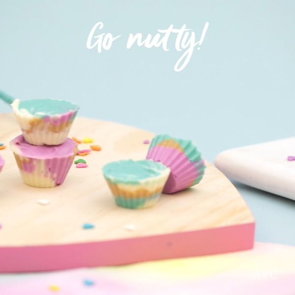 How to DIY Pastel Peanut Butter Cups