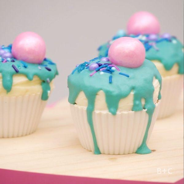 DIY Drip Cupcakes