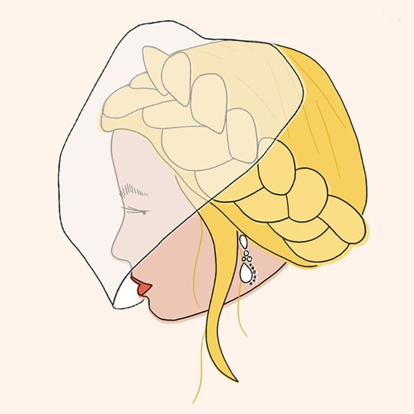 5 Wedding Hairstyles That Pair Perfectly With Veils