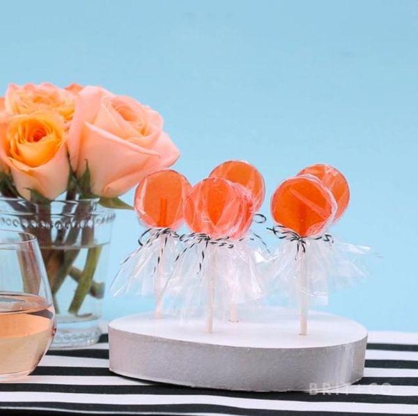 How to Make Rosé Lollipops