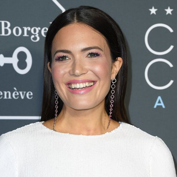 Mandy Moore Ditches Her Long Hair for a Chin-Grazing Bob