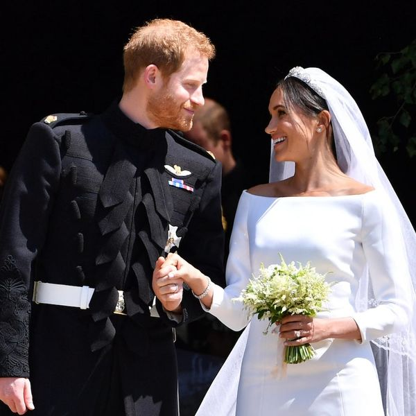 Meghan Markle Hid Her Totally Sweet 'Something Blue' in Her Veil