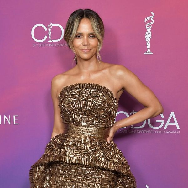 Halle Berry's New Tattoo Stretches the Entire Length of Her Back